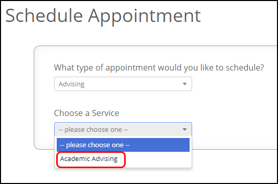 sub category of appointment