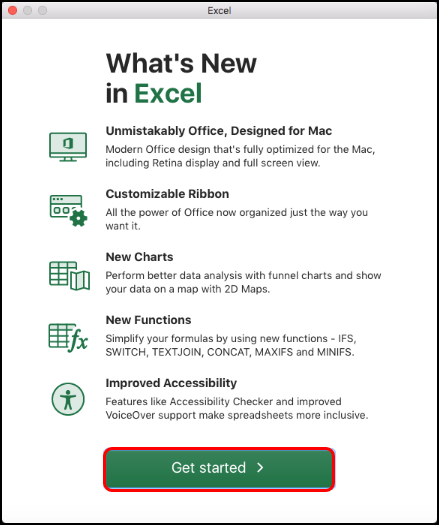 Excel whats new