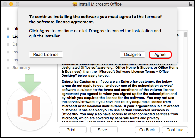 agree software license agreement