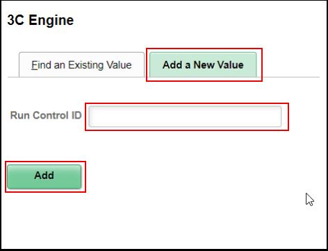 3 C Engine Add a New Value tab