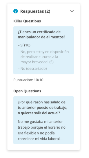 Killer y Open Questions
