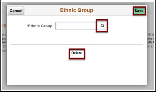 Ethnic Group windo