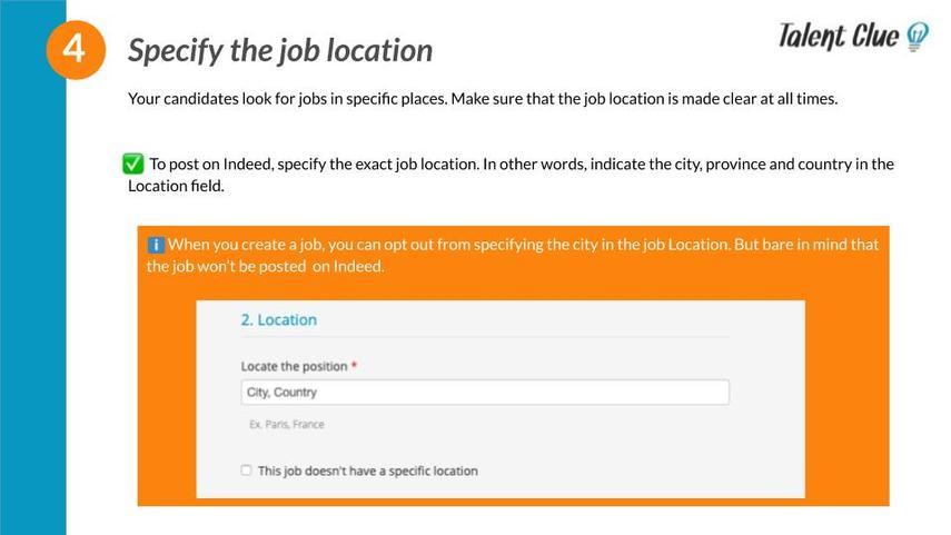 Job location