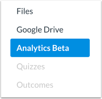 Open Analytics Beta