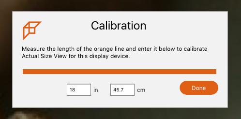 Calibrate Measurement