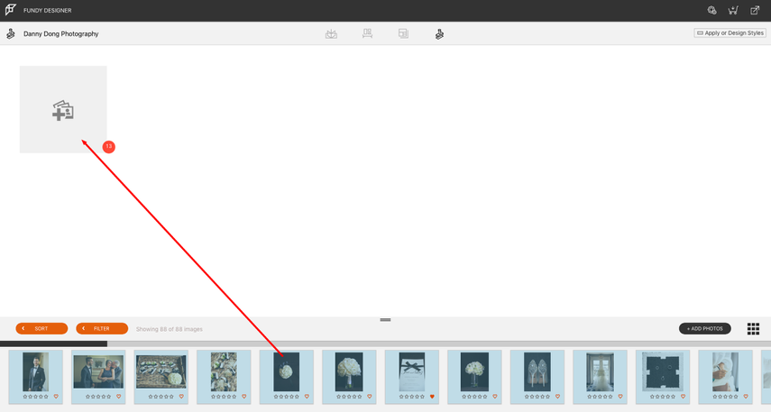 Drag and Drop Images into Planner View