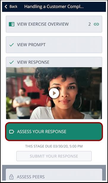 Assess Response Mobile