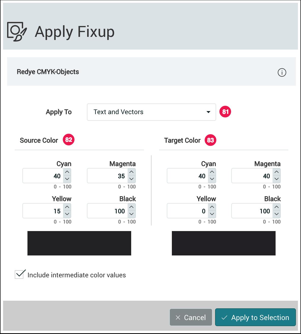 Redye CMYK-Objects Fixup - 1.7.3
