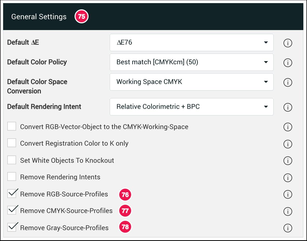 General Settings Remove Profiles - 1.7.4