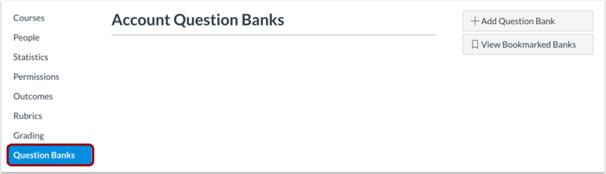 Account Question Banks