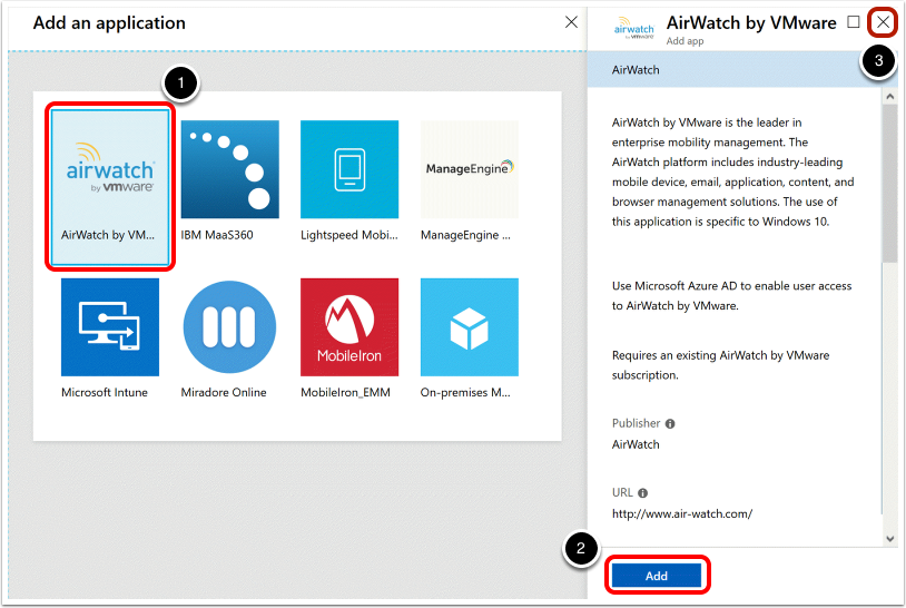 Add an Application for Automatic Enrollment to MDM