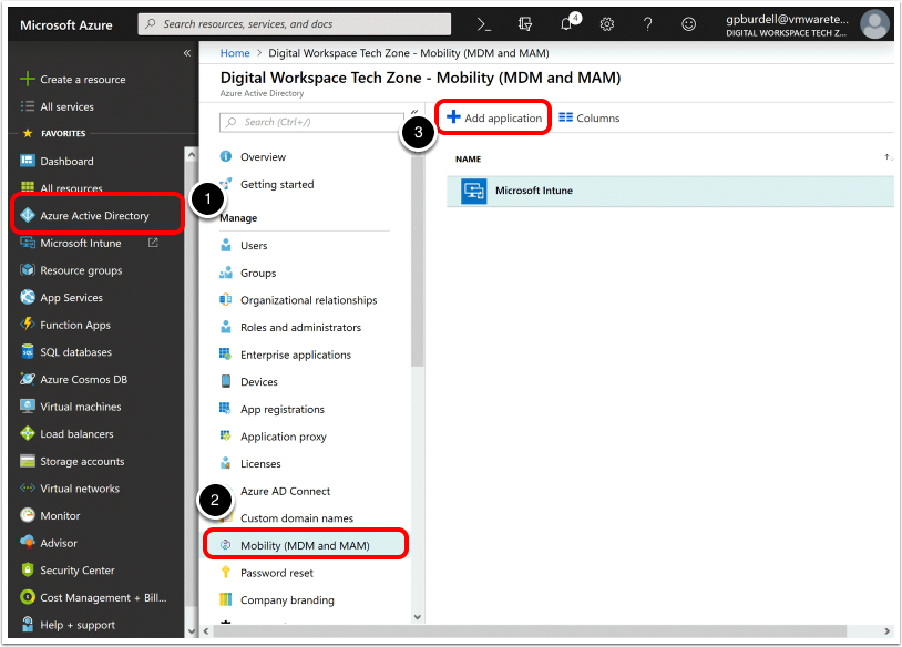 Navigate to Azure Active Directory