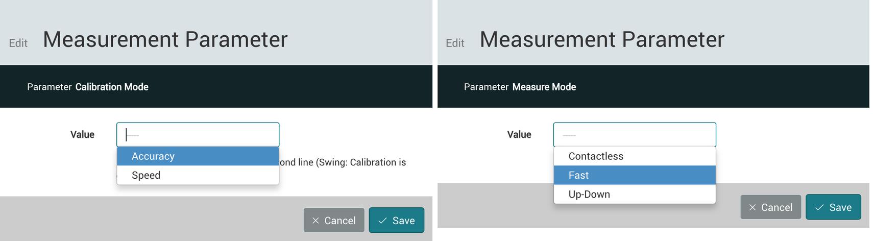 Measurement Parameters