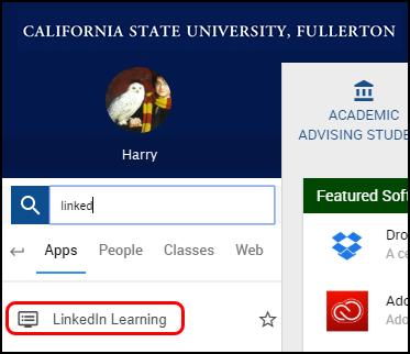 LinkedIn learning portal app