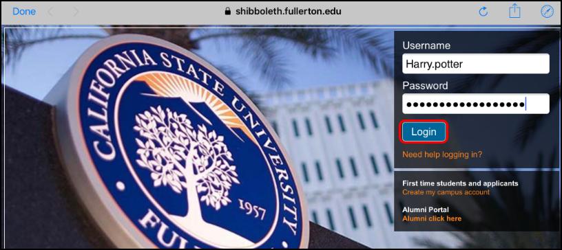 campus portal sign in