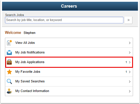 Careers page