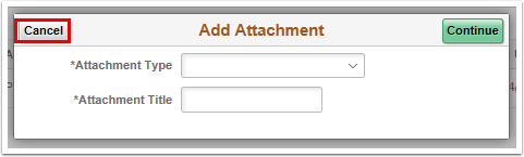Add Attachment pagelet