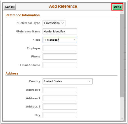 Add reference pagelet
