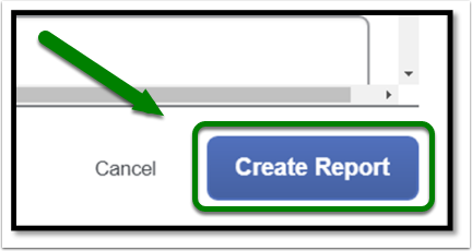 Click on Create Report to create your expense report.