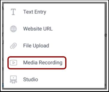 Select Media Recording