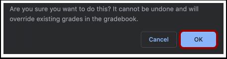 Confirm Grades