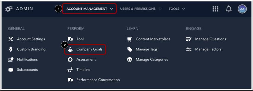 Open Company Goals
