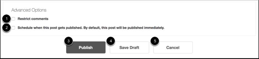 Publish Blog Post