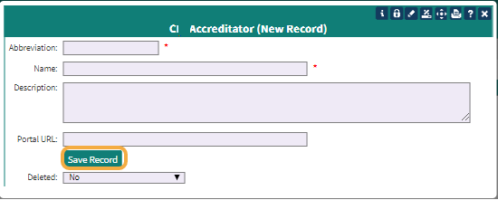 Step 2: Fill out the required fields (*)