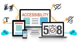 Accessibility image showing on multiple devices