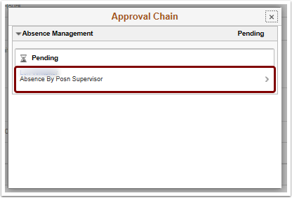 Approval Chain