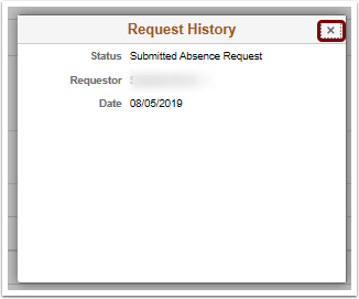 Request History