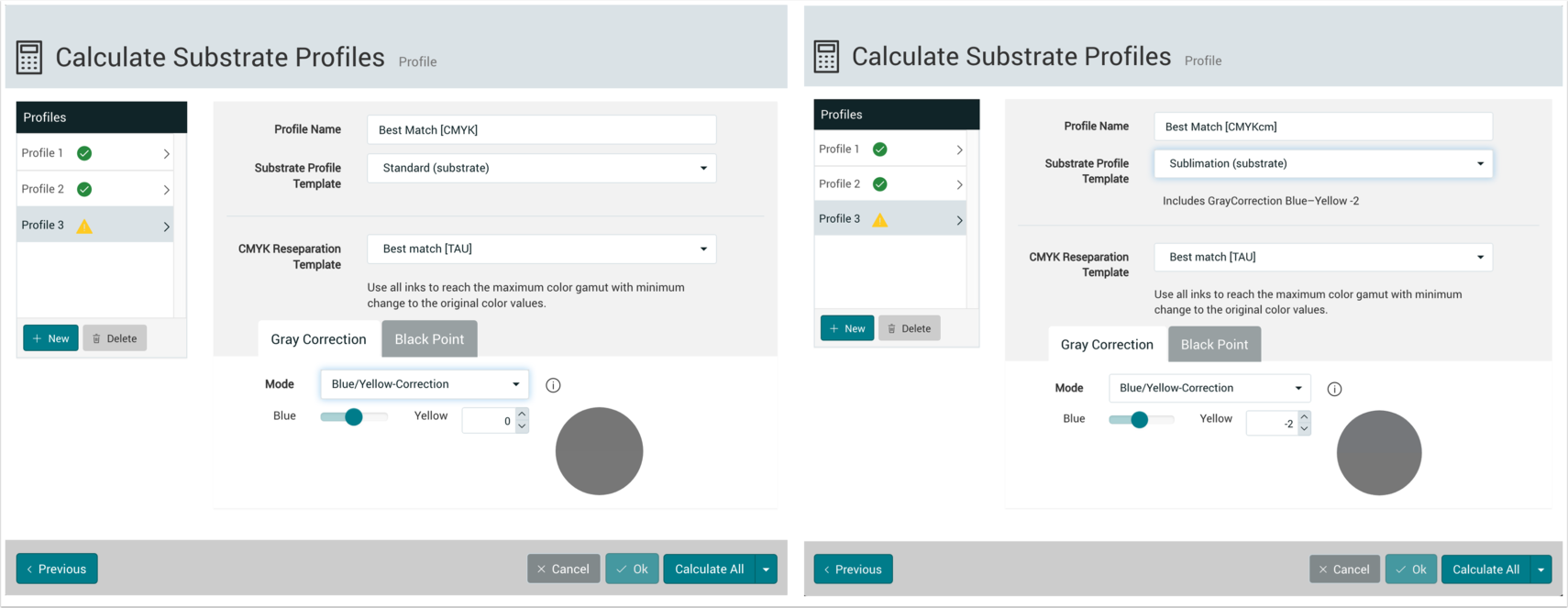 Calculate Substrate Profiles - 1.7.5