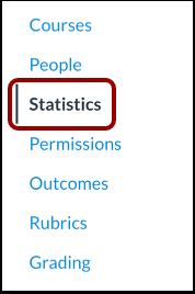 Open Statistics