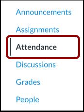 Open Attendance