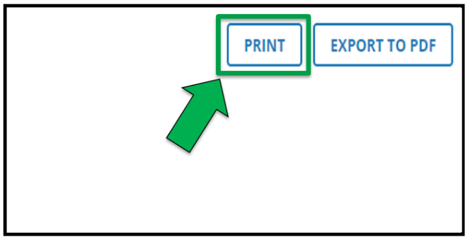 Arrow pointing to Print button