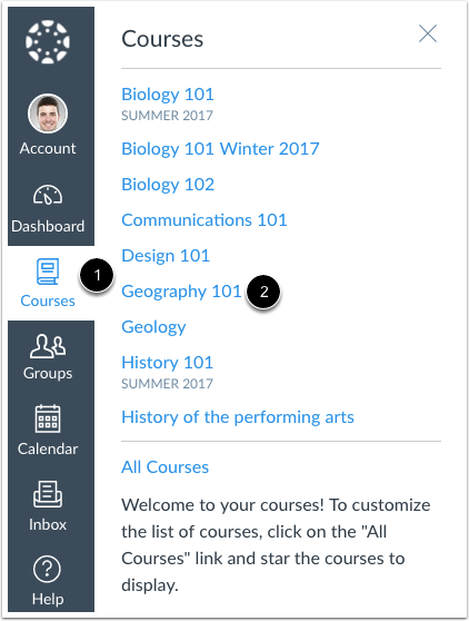 Abrir curso
