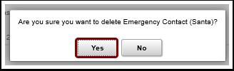confirm deletion message