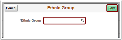 ethnic group lookup pagelet