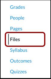 Open Files