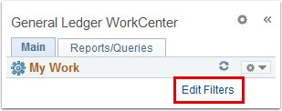 Edit Filters Link