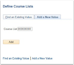 Add Course List image