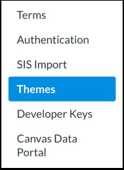 Knop Theme Editor openen