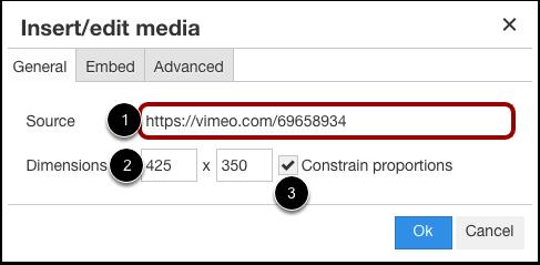 Insert Using Source URL