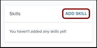 Add Skill