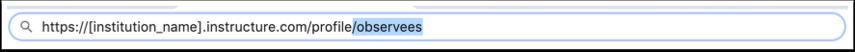 Open Observing URL
