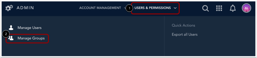 Open Group Management