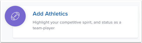 Add Athletics