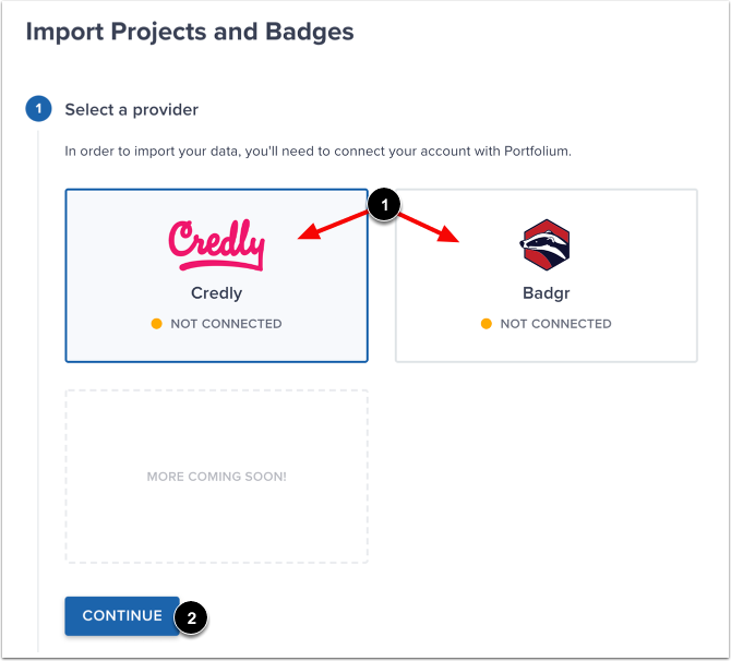 Select Provider