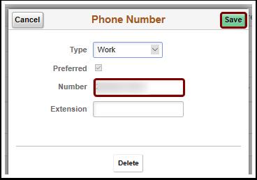 edit Number in phone number pagelet
