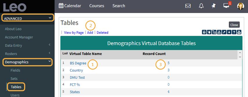 Virtual Database